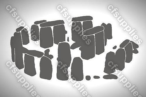 Stonehenge Mylar Stencil Sheet