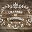 Shabby Chic French Vintage Mylar Stencil