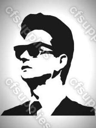Roy Orbison Mylar Stencil