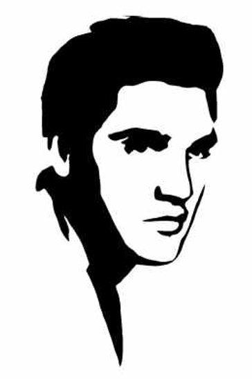 Elvis Presley Mylar Stencil