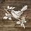 Thumbnail: Bird on branch Stencil 125/190 micron in A5/A4/A3 sizes (#121)