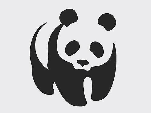 Panda mylar stencil 125/190 micron in A5/A4/A3 sizes