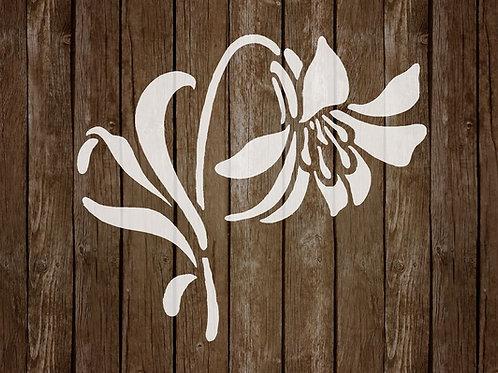 Flower Mylar Stencil 125/190 micron in A5/A4/A3 sizes (F10)