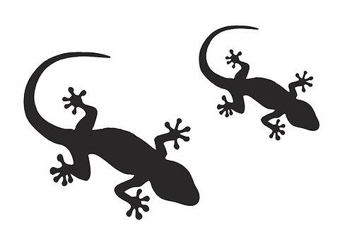 Geckos mylar stencil 125/190 micron in A5/A4/A3 sizes