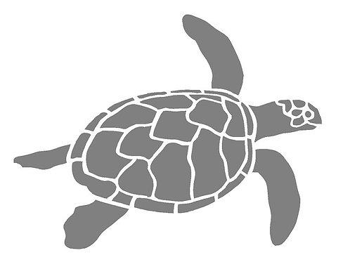 Sea Turtle  Mylar Stencil sheet