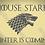 House Stark Game of Thrones Mylar Stencil