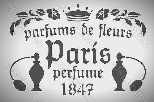 French Vintage Shabby Chic Mylar Stencils