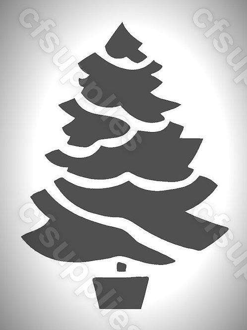Christmas Tree Mylar Stencils
