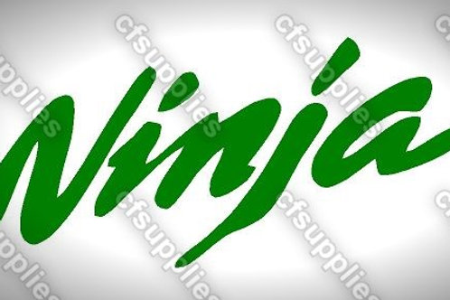 Ninja Logo Mylar Stencil Sheet