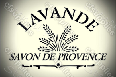 Lavande Shabby Chic French Vintage Mylar Stencil
