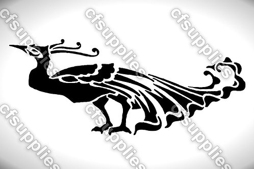 Bird collection of mylar stencils 125/190 micron in A5/A4/A3 sizes (B11)