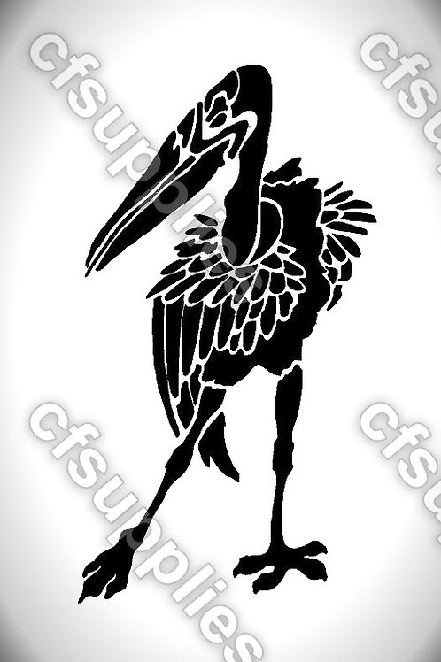 Bird collection of mylar stencils 125/190 micron in A5/A4/A3 sizes (B10)