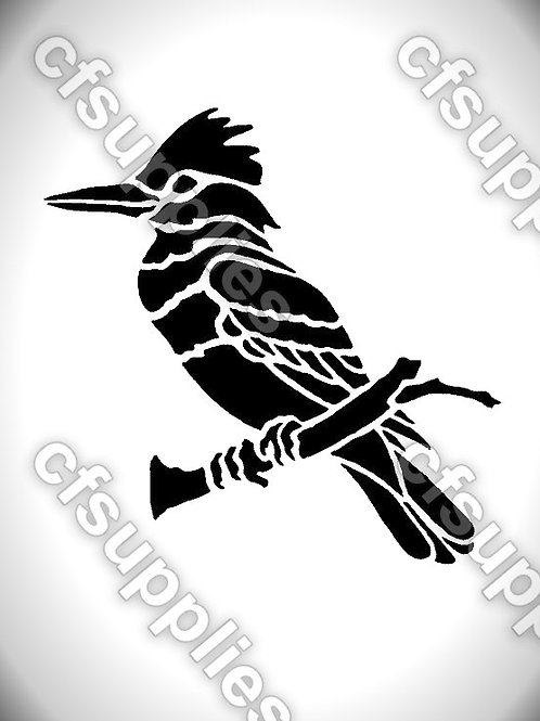 Bird collection of mylar stencils 125/190 micron in A5/A4/A3 sizes (B2)