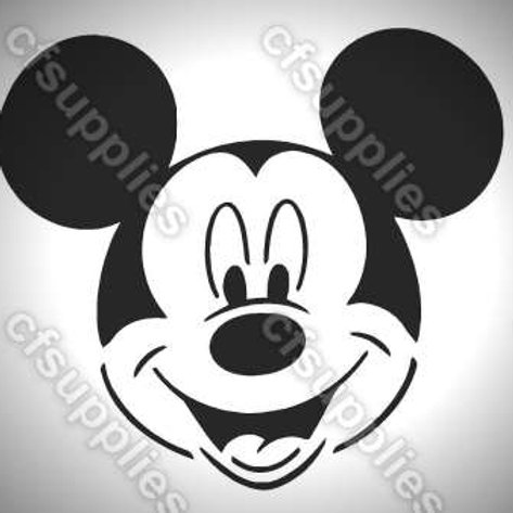 Mickey Mouse, Disney Mylar Stencil