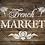 French Market Shabby Chic French Vintage Mylar Stencil