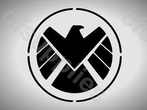 Marvel Agents of Shield Mylar Stencil