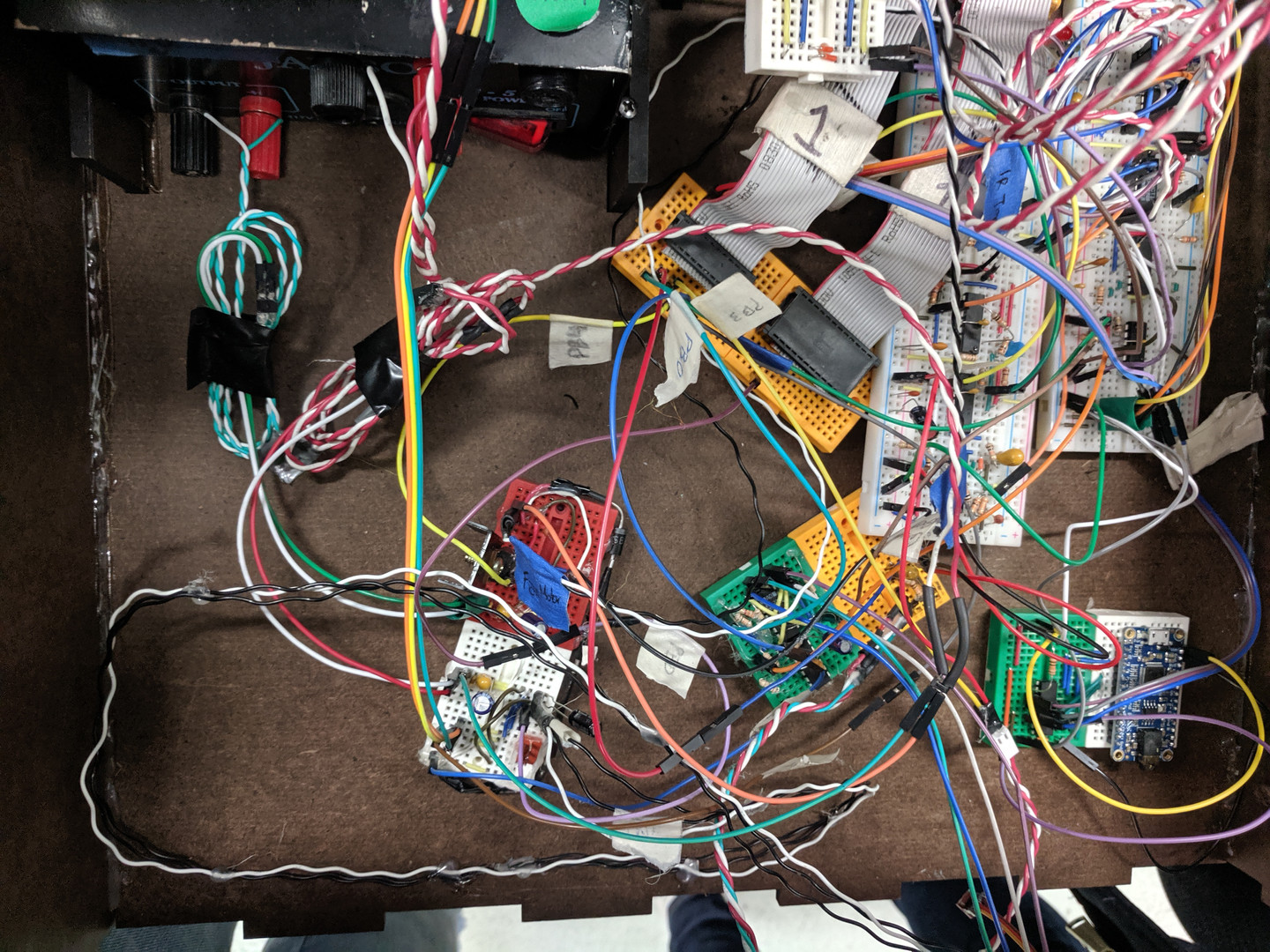 And more circuitry