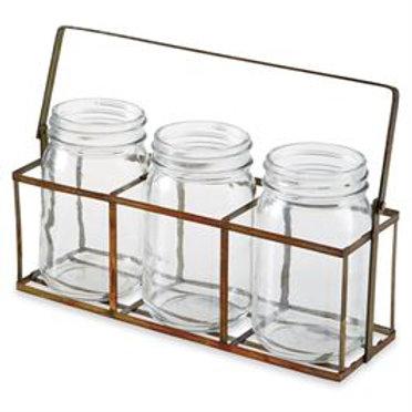 Rustic Utensil Basket Set