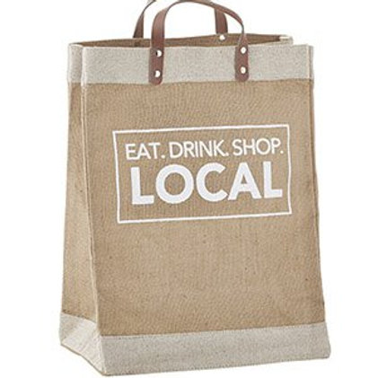 Eat Drink Shop Market Tote