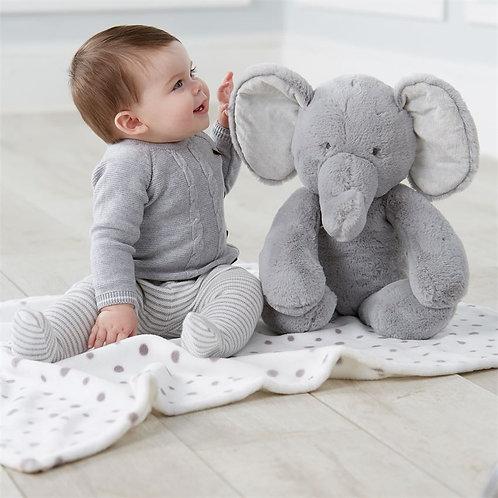 Elephant Plush with Blanket