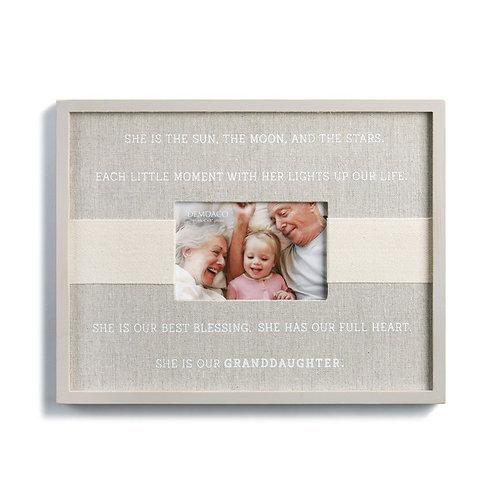 Blessings Of A Granddaughter Frame