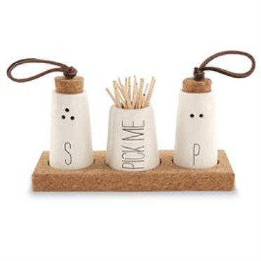 Salt, Pepper & Toothpick Holder