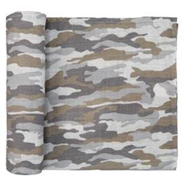 Camo Swaddle Blanket