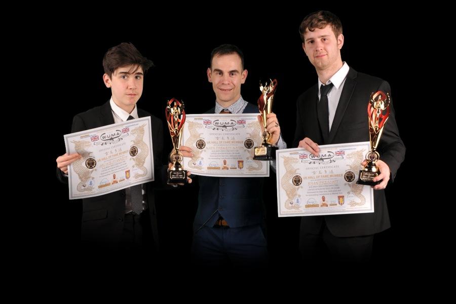 Hall of Fame Trio