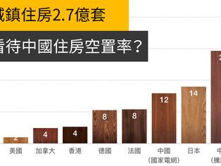 如何看待中國住房空置率?10%?20%?