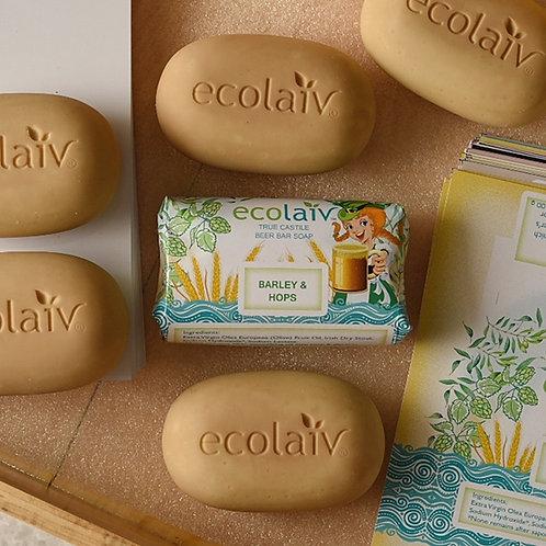 Ecolaiv True Castile Beer Bar Soap