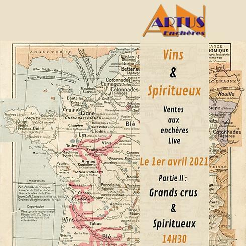 VINS & SPIRITUEUX PARTIE I ET PARTIE II
