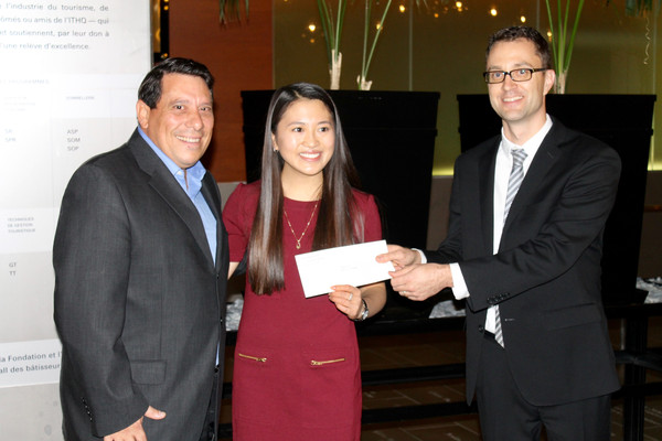 Lucien-Piché/ThermoFisher Scientific Scholarship awarded to Ms Monica Lin