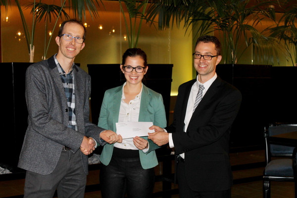 Lucien-Piché/OmegaChem Scholarship awarded to Ms Maude Cloutier