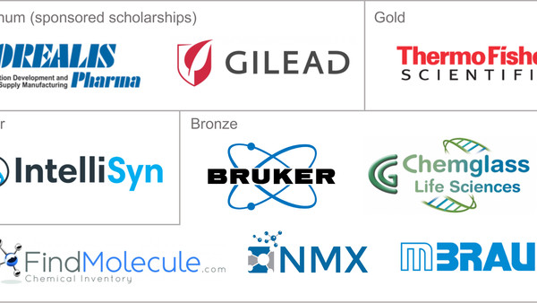 Many thanks to our generous 2020 sponsors for supporting the training of the next generation of chem