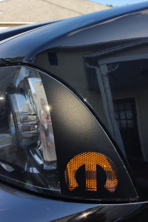 2011-2014 Dodge Charger Headlight Marker Decal