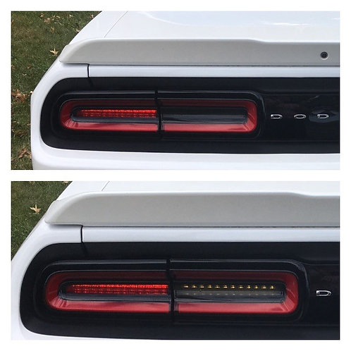 2015+ Dodge Challenger Tail light Blackouts
