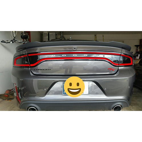 2015+ Dodge Charger Tail light Blackouts