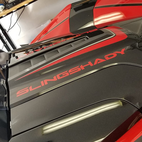 Custom Slingshot Hood Decals