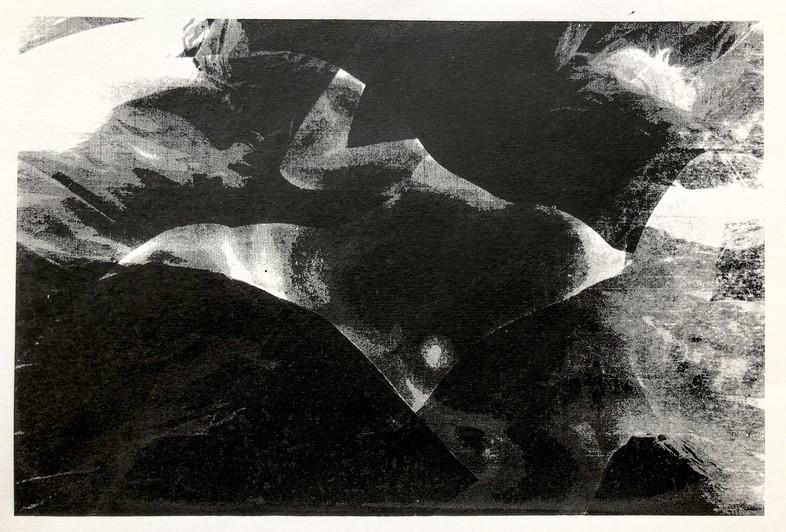 Figurative overlaid screen prints