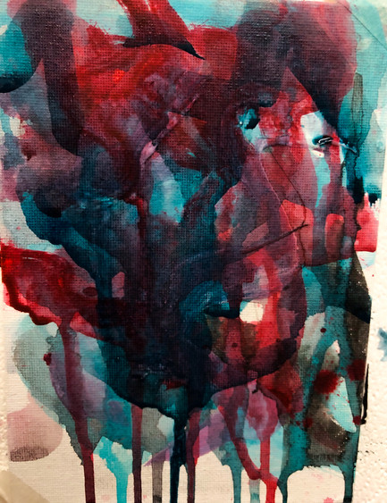 Abstract painting experiment