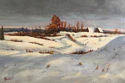 Winter in Siberia 41x61cm oil on canvas £300