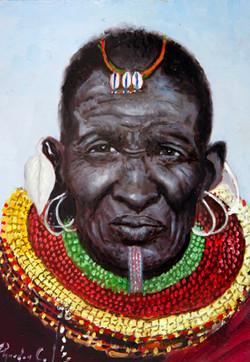 Massai Man SOLD