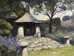 High Grove garden 30x40cm oil on canvas £250