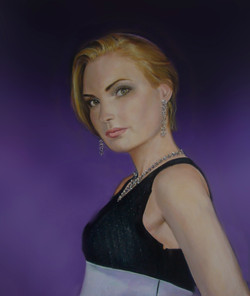 Marinika Smirnova Model 60x80cm oil on canvas