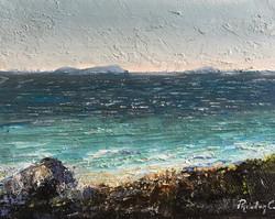 Maistros wind 25x30cm oil on canvas £100