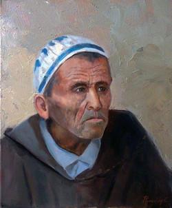 morocian man 40x30cm oil on canvas £300