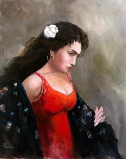 The Dancer 40.5x51cm oil on canvas £250.
