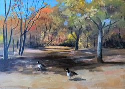 EPPING FOREST OIL ON MDF £40
