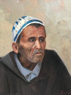 Man from Morocco 40x50cm oil on canvas £300