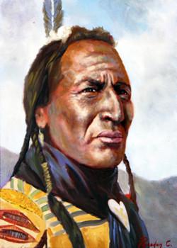 Cherokee Man SOLD